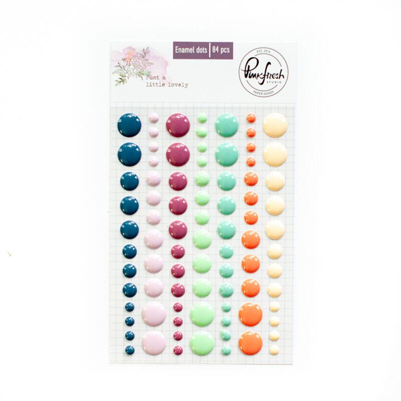 Pinkfresh Studio - Just a Little Lovely Enamel dots