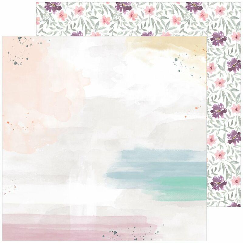 Pinkfresh Studio - Just a Little Lovely 12x12 Paper - Highlight