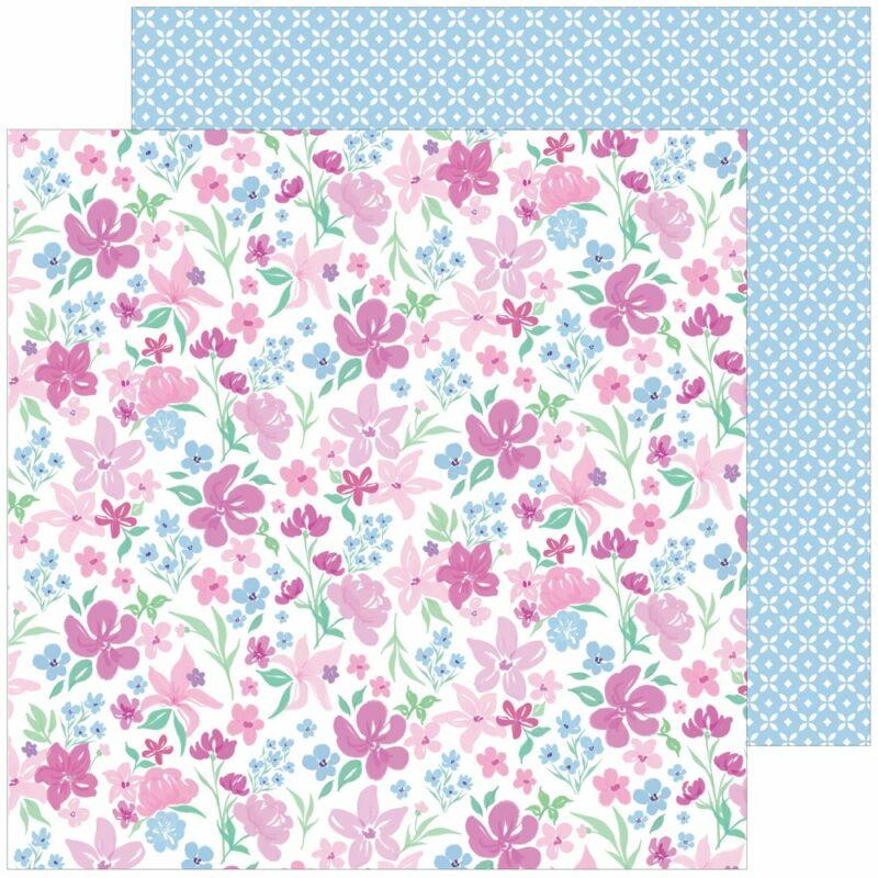 Pinkfresh Studio - Keeping it Real 12x12 papír - Deep breath