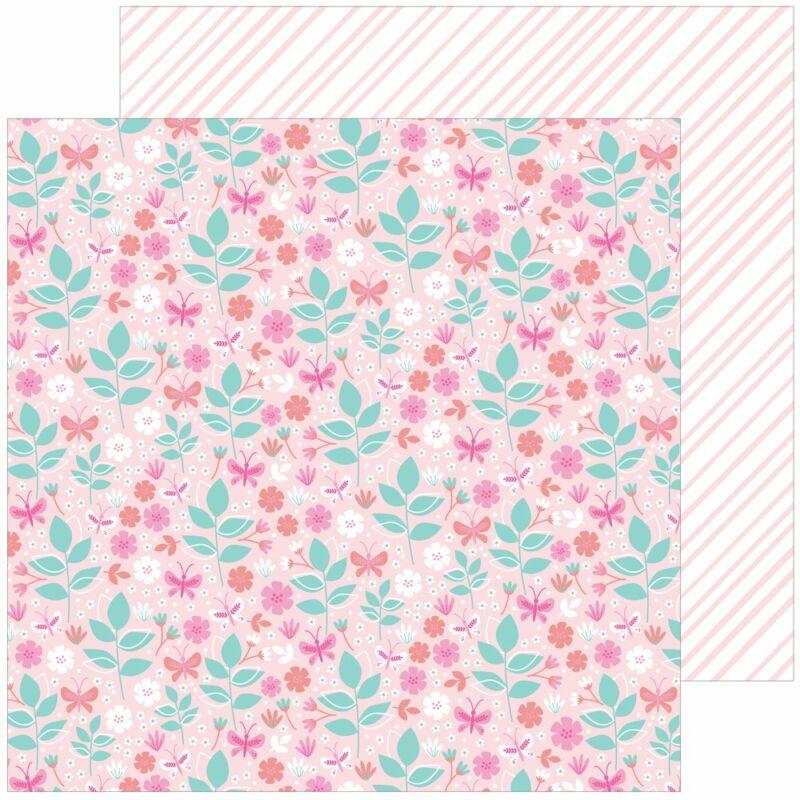 Pinkfresh Studio - Keeping it Real 12x12 papír - Tiny victories