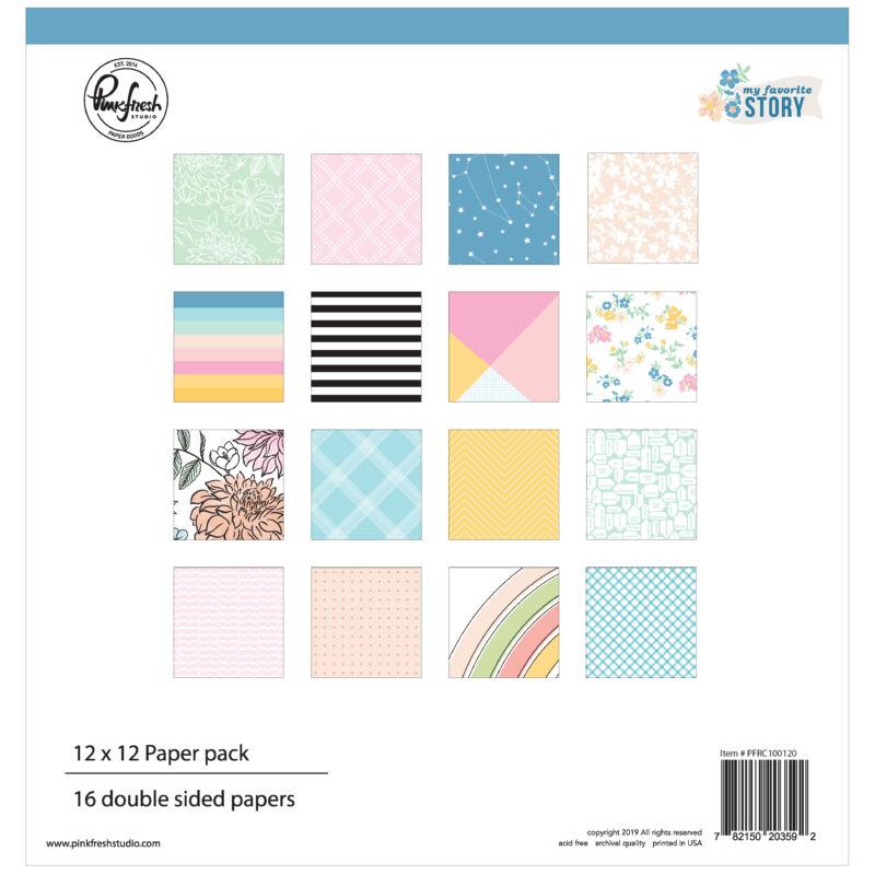 Pinkfresh Studio - My Favorite Story 12x12 Paper Kit