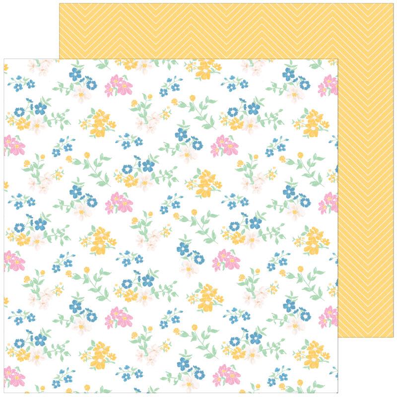 Pinkfresh Studio - My Favorite Story 12x12 Paper - Plant Kindness