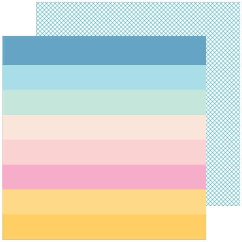 Pinkfresh Studio - My Favorite Story 12x12 Paper - Looking for Sunshine