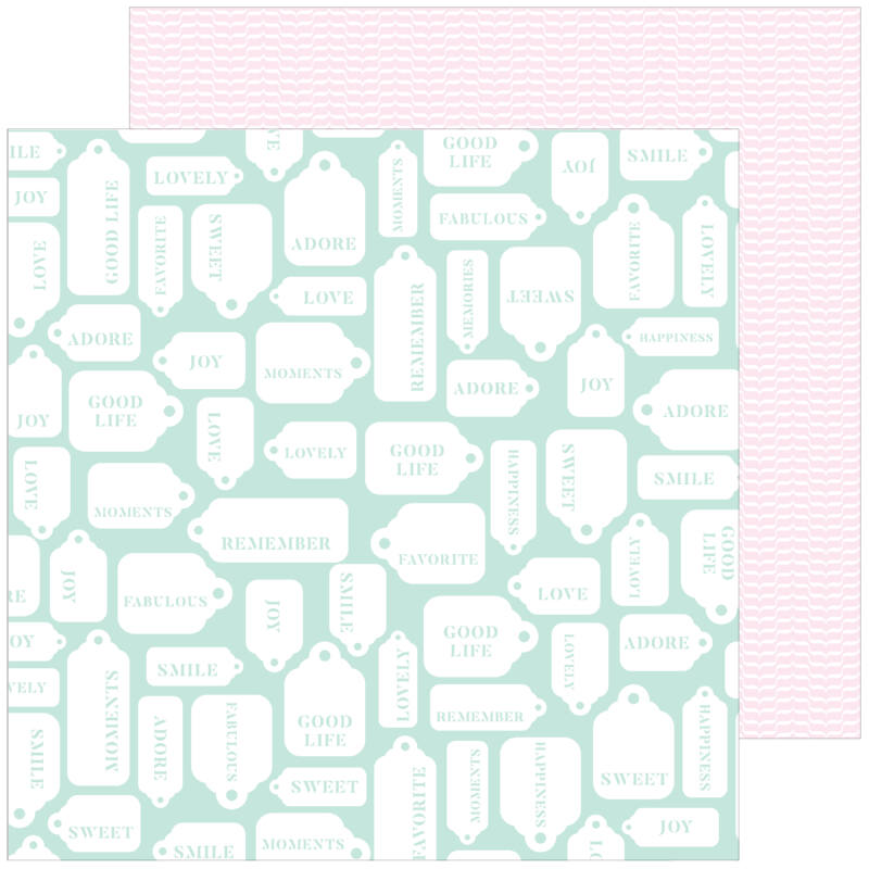 Pinkfresh Studio - My Favorite Story 12x12 Paper - Good Life