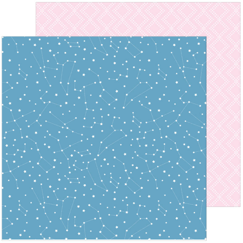 Pinkfresh Studio - My Favorite Story 12x12 Paper - Beauty of Simplicity