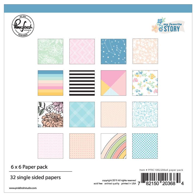 Pinkfresh Studio - My Favorite Story 6x6 Paper Pad