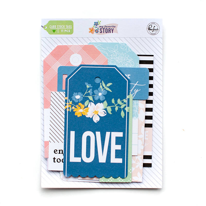 Pinkfresh Studio - My Favorite Story Cardstock Tags