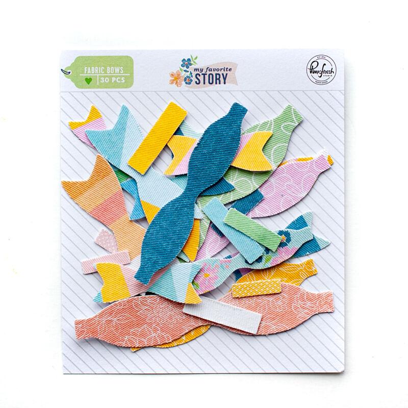 Pinkfresh Studio - My Favorite Story Fabric Bows