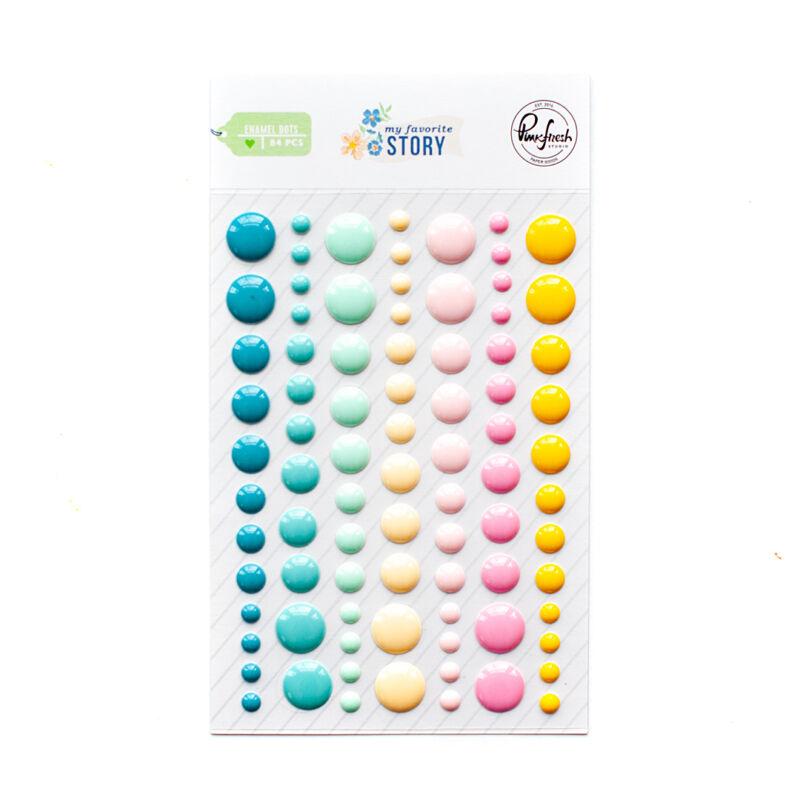 Pinkfresh Studio - My Favorite Story Enamel Dots