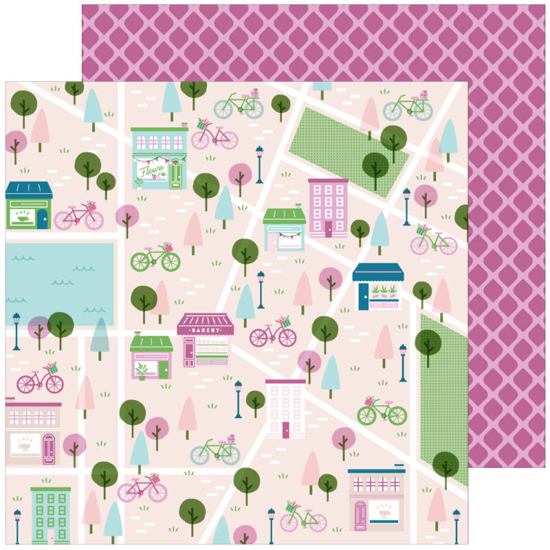 Pinkfresh Studio - Noteworthy 12x12 Paper - All the Goodness