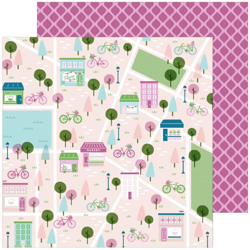 Pinkfresh Studio - Noteworthy 12x12 papír - All the Goodness