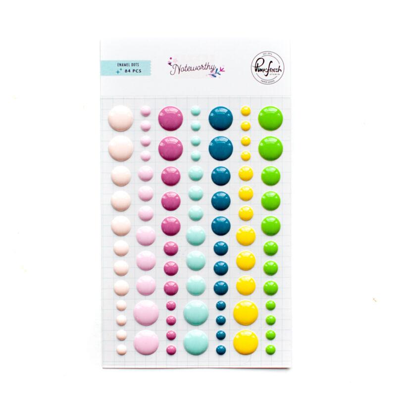 Pinkfresh Studio - Noteworthy Enamel Dots