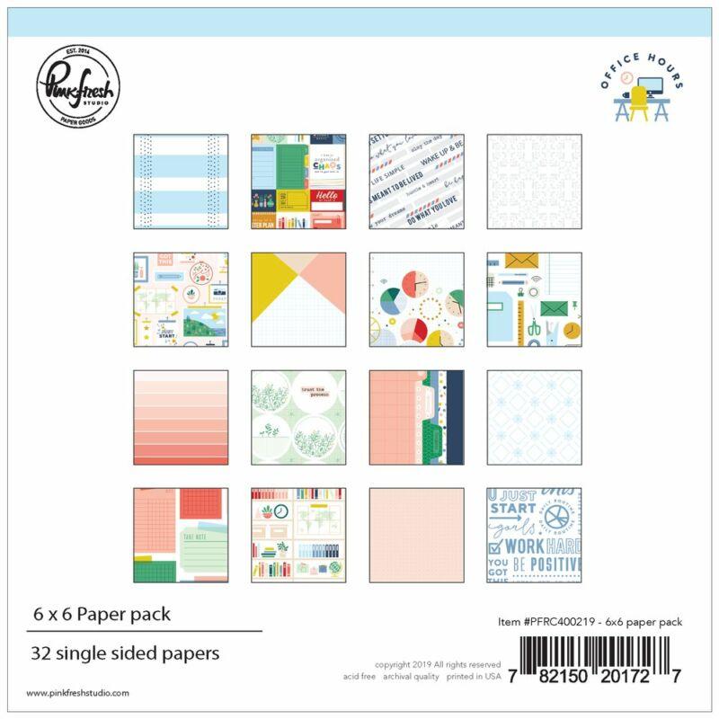 Pinkfresh Studio - Office Hours 6x6 Paper Pad