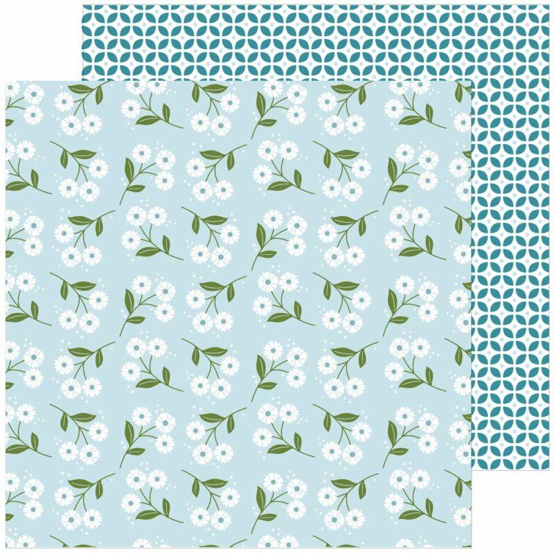 Pinkfresh Studio - Some Days 12x12 Paper - Friendly Daisies
