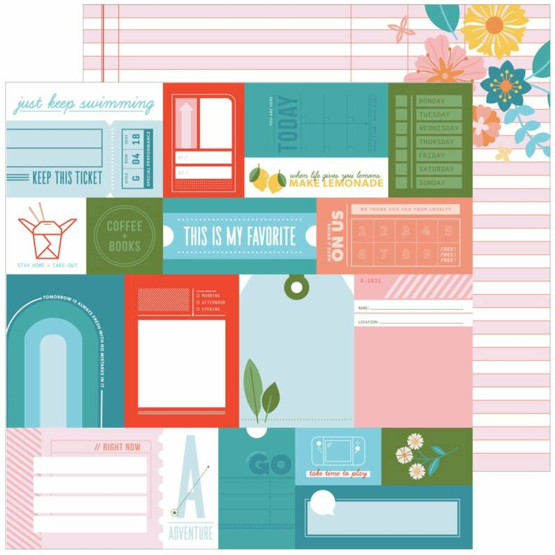 Pinkfresh Studio - Some Days 12x12 papír - What a Day