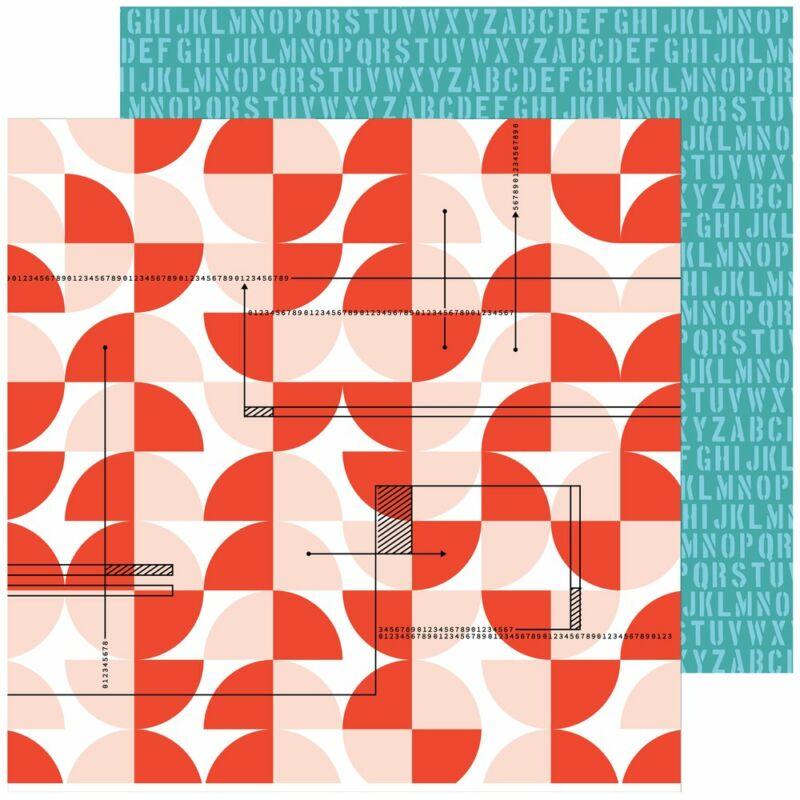 Pinkfresh Studio - Some Days 12x12 papír - Count it Down
