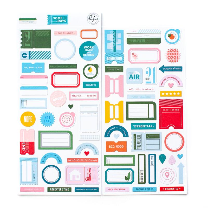 Pinkfresh Studio - Some Days Cardstock stickers
