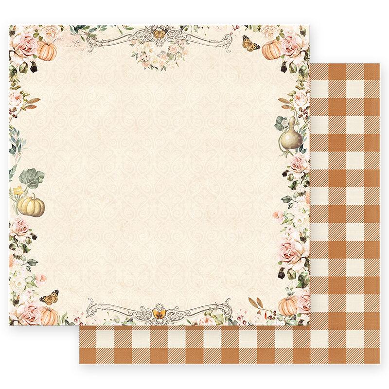 Prima Marketing - Autumn Sunset 12x12 scrapbook papír - Beautiful Sunset