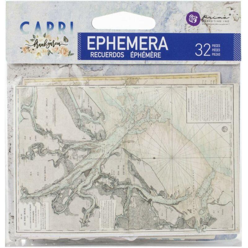 Prima Marketing - Capri Ephemera (32 Pieces)