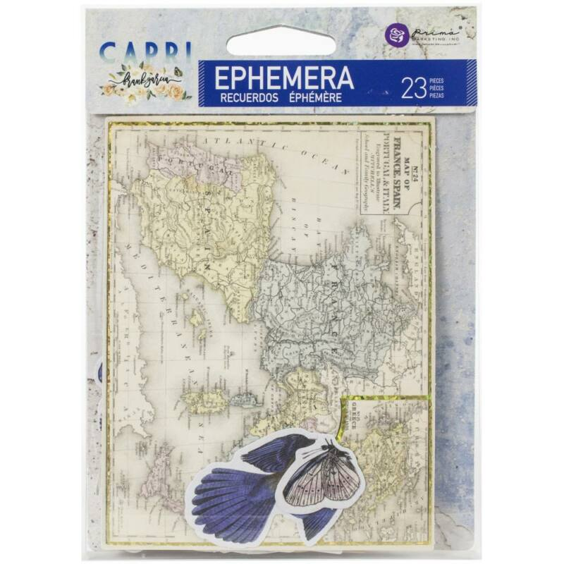 Prima Marketing - Capri Ephemera (23 Pieces)