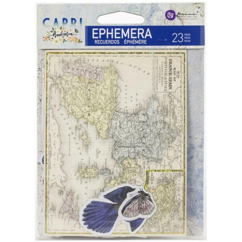 Prima Marketing - Capri Ephemera (23 Pieces)
