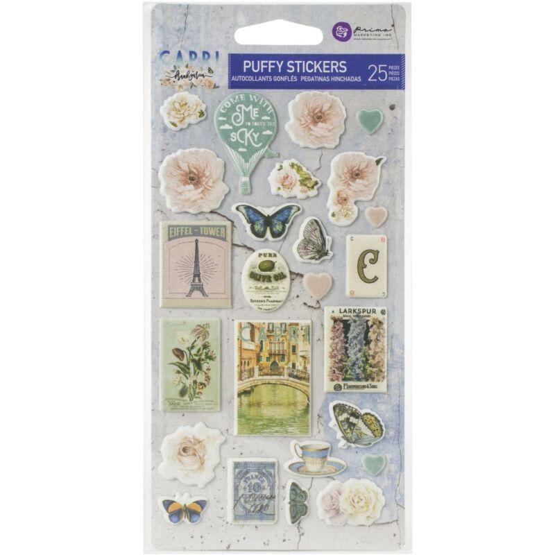 Prima Marketing - Capri Puffy Stickers (25 Pieces)