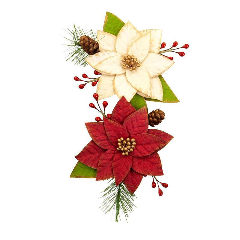 Prima Marketing - Christmas in the Country Flower - Sleigh Ride