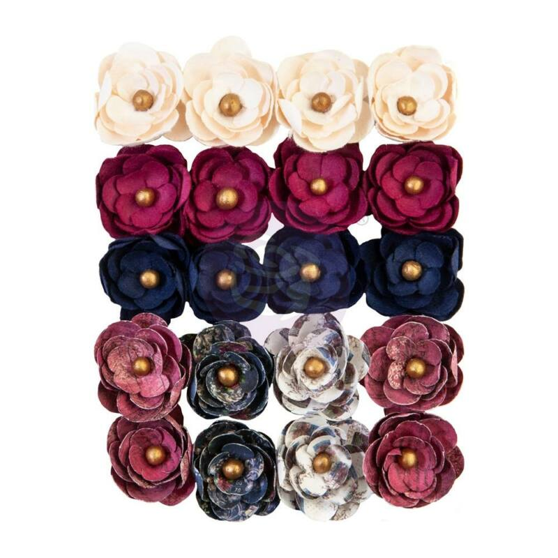 Prima Marketing - Darcelle Paper Flowers - Left Behind