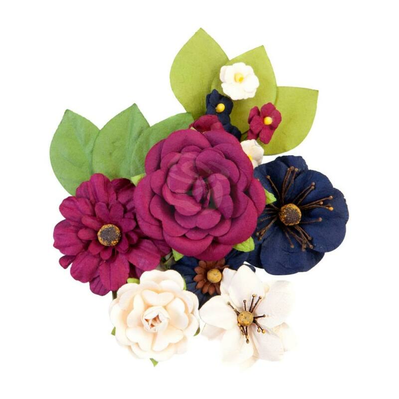 Prima Marketing - Darcelle Paper Flowers - Recollections