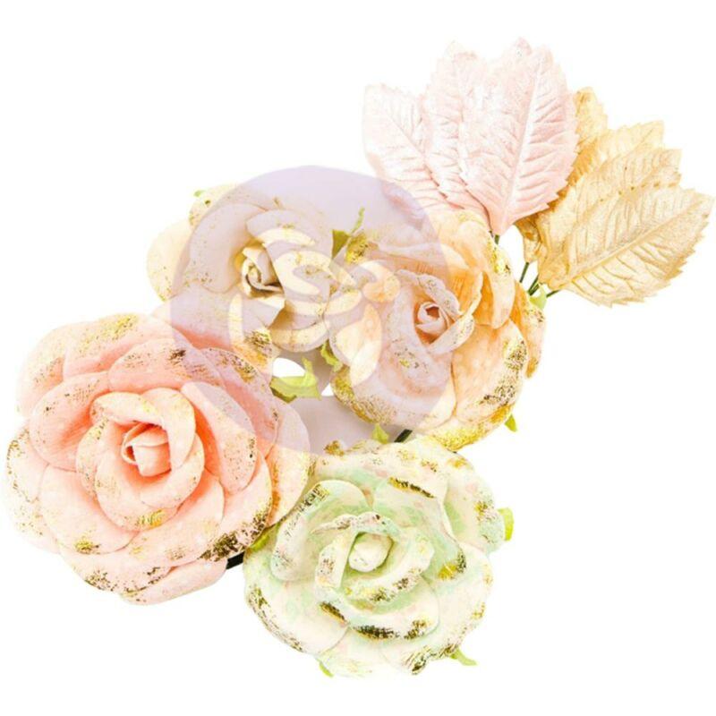 Prima Marketing - Santa Baby papír virág - Sugarplum Sweet