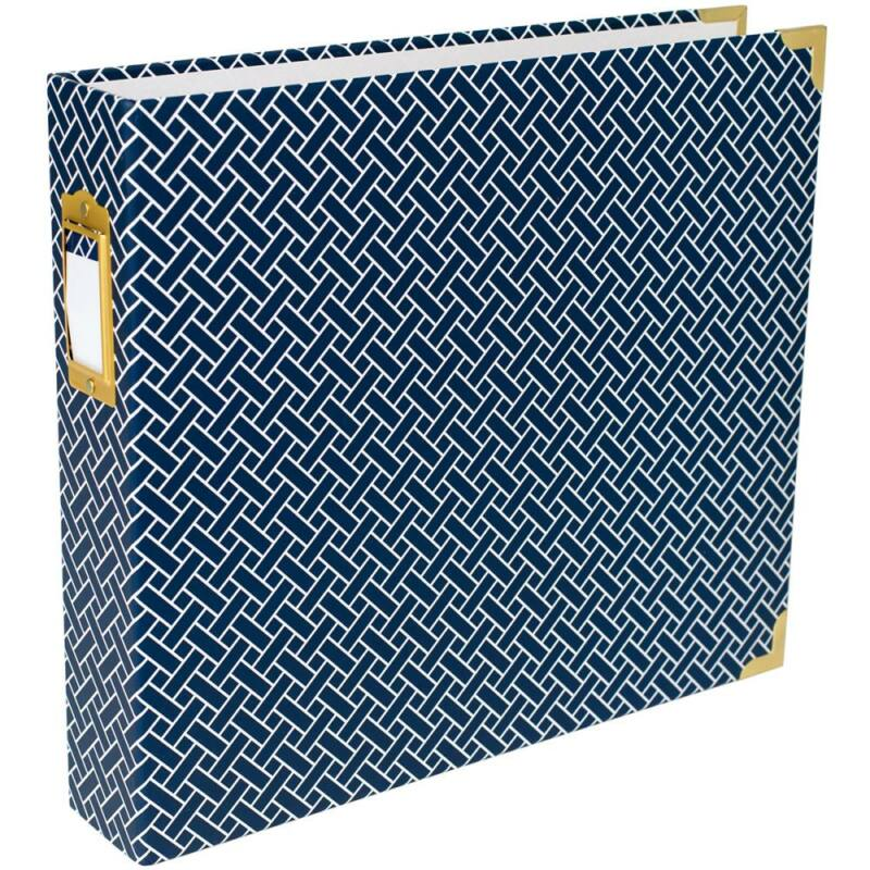 Becky Higgins - Project Life - 12 x 12 Album Navy Weave