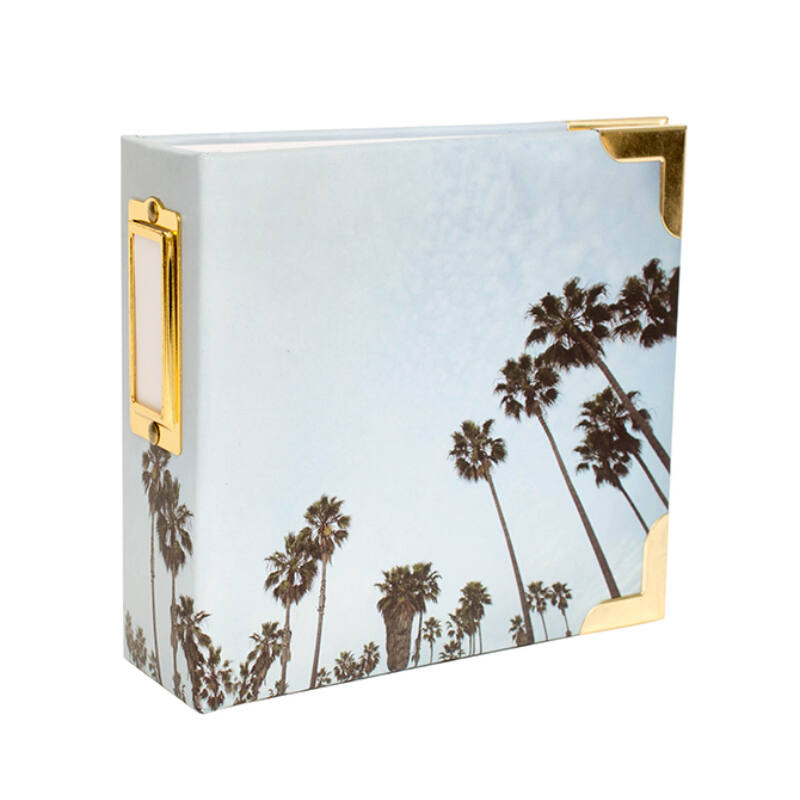 Becky Higgins - Project Life - 4x4 Album - Palm Tree