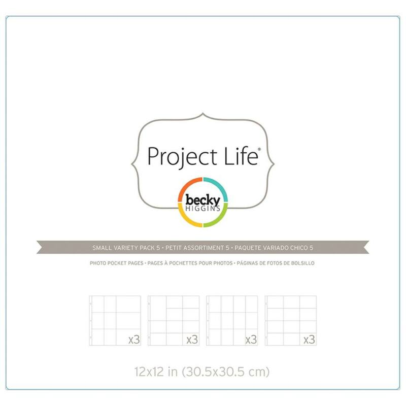 Project Life - Becky Higgins Photo Pockets - Variety Pack 5