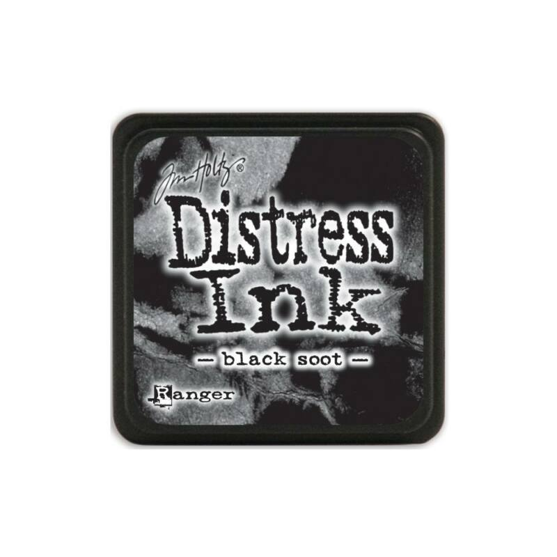 Ranger - Tim Holtz - Mini Distress Ink Pad - Black Soot
