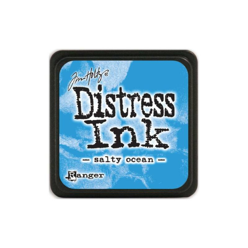 Ranger - Tim Holtz - Mini Distress Ink Pad - Salty Ocean