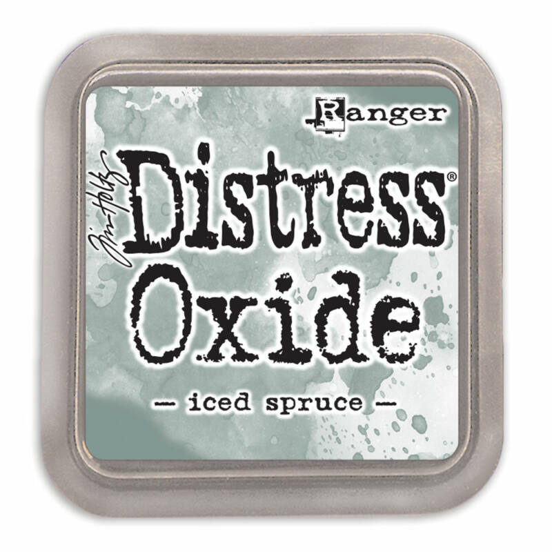 Tim Holtz Distress oxide tinta - Iced Spruce