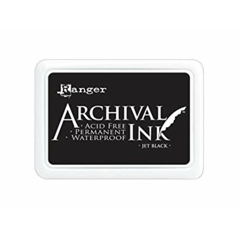 Ranger - Jumbo Archival Ink Pad - Jet Black