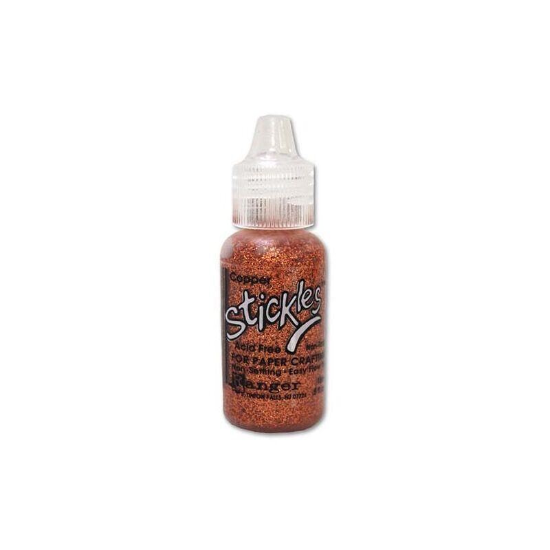 Ranger Stickles Glitter Glue .5oz - Copper