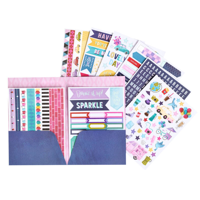 Echo Park Paper Company Embossing Folder Perfect Palm Card Making ...