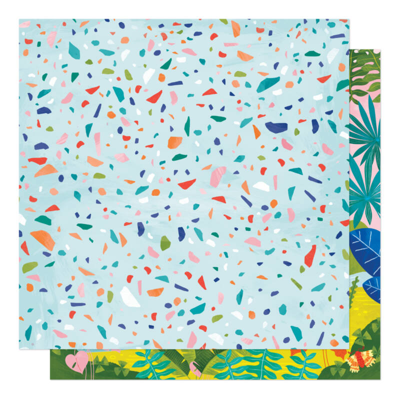 American Crafts - Shimelle - Field Trip 12x12 Patterned Paper - In the Wind
