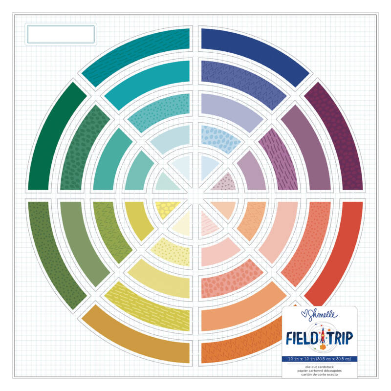 American Crafts - Shimelle - Field Trip 12x12 Specialty Paper