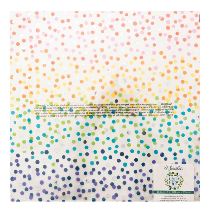 American Crafts- Shimelle - Never Grow Up 12x12 különleges papír