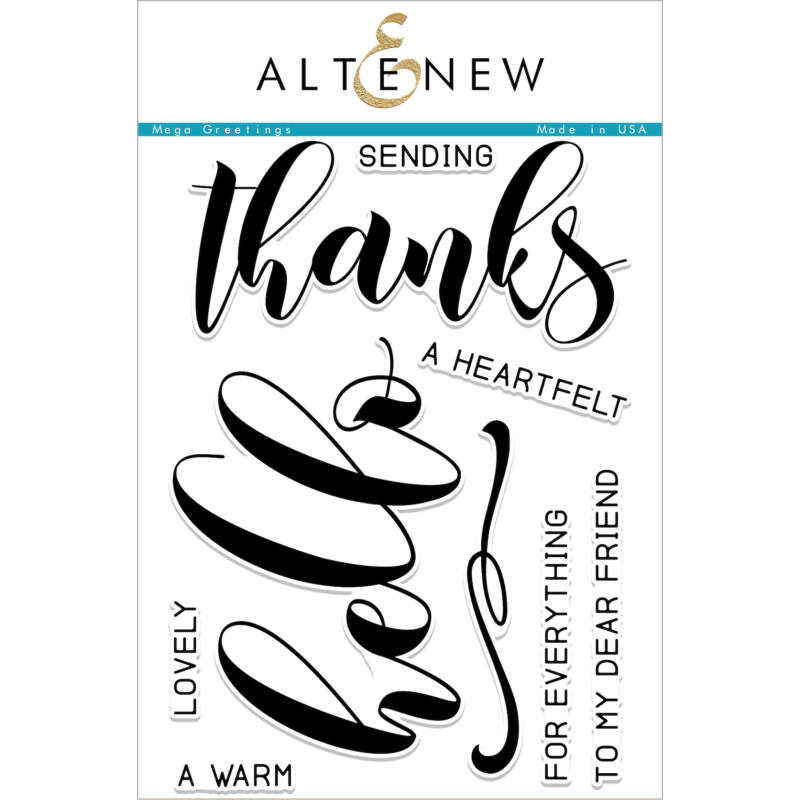 Altenew Mega Greetings Stamp Set
