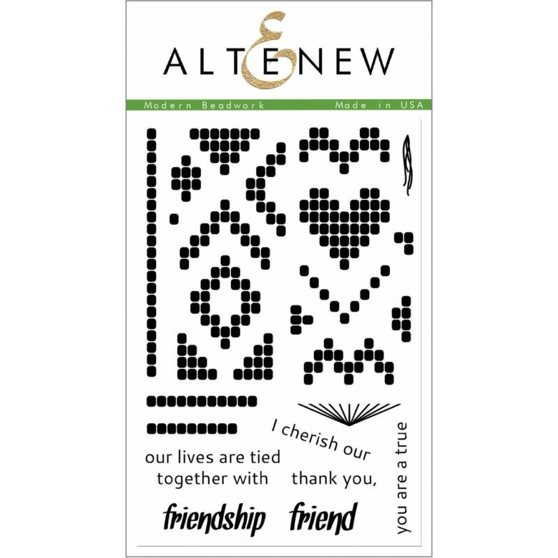 Altenew Modern Beadwork Stamp Set