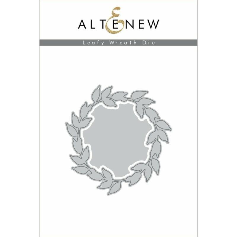 Altenew Leafy Wreath Die