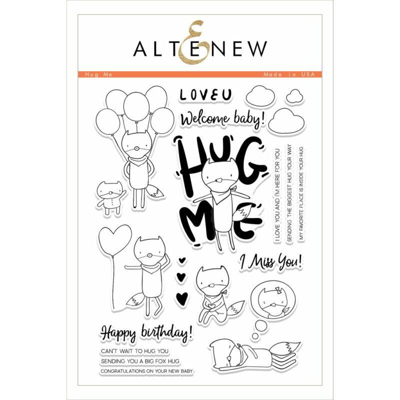 Altenew Hug Me Stamp Set