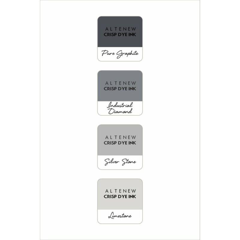 Altenew Mini Ink Cube Set - Rock Collection
