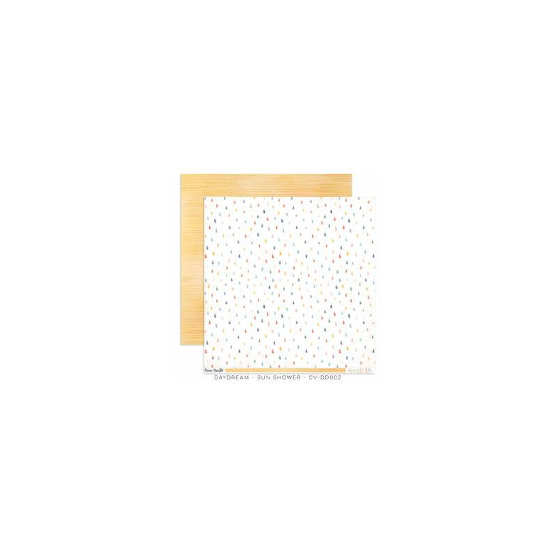 Cocoa Vanilla Studio - Daydream 12x12 Paper - Sun Shower