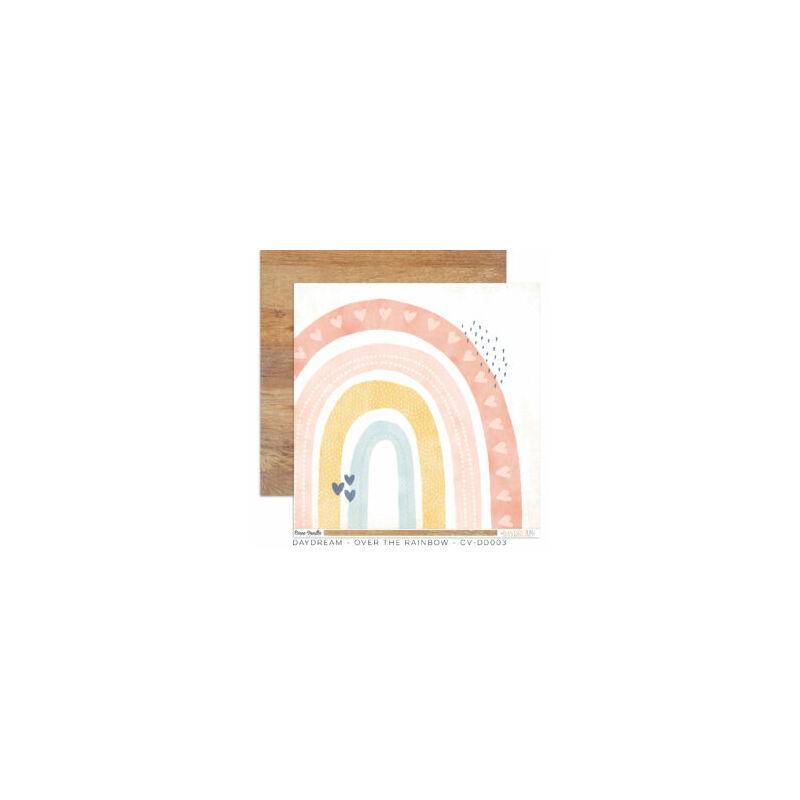Cocoa Vanilla Studio - Daydream 12x12 Paper - Over the Rainbow