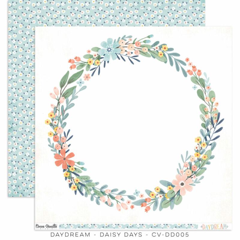 Cocoa Vanilla Studio - Daydream 12x12 papír - Daisy Days